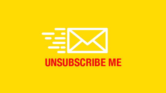Hit the Unsubscribe Button